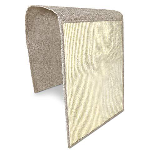 Navaris Katzen Kratzmatte Kratzschutz Sofa - Sisal Kratzteppich 130 x 45 cm für Katze - Couch Katzenkratzmatte - auch für Hunde geeignet