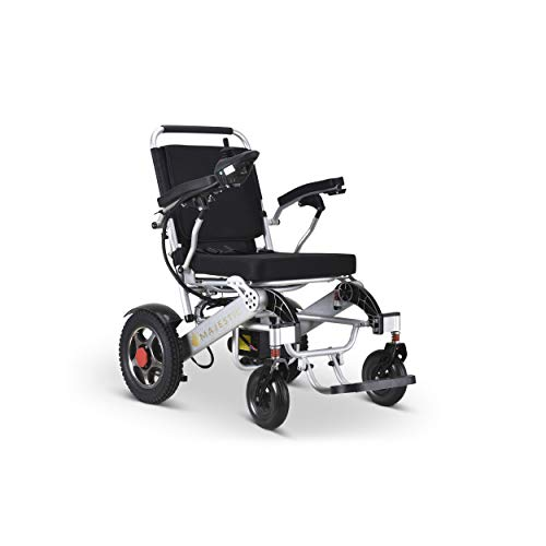 Best Buy! United Mobility Lite Wanderer EX Extra Large Seat Electric Wheelchair Lightweight Foldable...