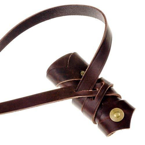 Pera Peris Schwertgehänge nach Vorbildern aus der Wikinger-Zeit und dem Hoch-Mittelalter Farbe braun