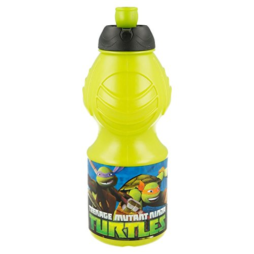 41uk2S zqCL - Botella Sport 400 ML. Tortugas Ninja