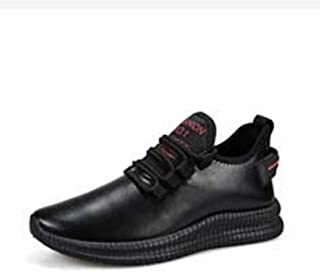 Men's Sneakers, Leather Waterproof Non-Slip Wearable Casual Shoes, Running Shoes, for Autumn And Winter