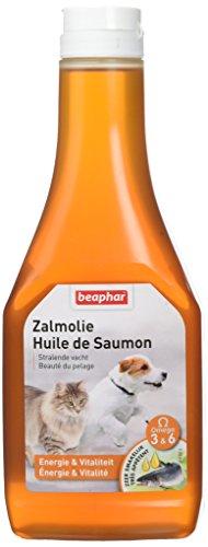 Beaphar - Huile de saumon, complément alimentaire bénéfique - chien et chat - 425 ml