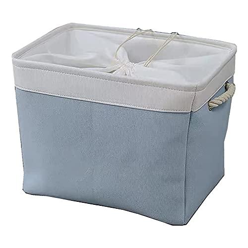 Caja de Almacenamiento para Niños Caja de almacenamiento de juguete Tela plegable Tela de almacenamiento Tela de almacenamiento Cestas de almacenamiento Lavandería Derquera Organizador de Juguetes pa