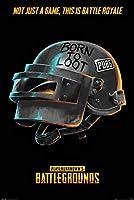 トライエックス ポスター/静物 カラー 91.5×61cm ポスター PUBG Born To Loot FP-4688