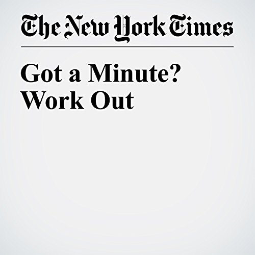 Got a Minute? Work Out audiobook cover art