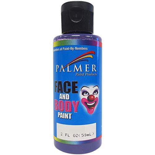 Palmer 56007-36 Face & Body Paint, 2 oz, Purple