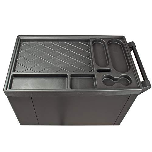 TrutzHolm® Werkstattwagen Premium XXL bestückt Profi-Werkzeug aus Chrom-Vanadium 7 Schubladen und ein Seitenfach gefüllt Assistent Werkzeugwagen - 8