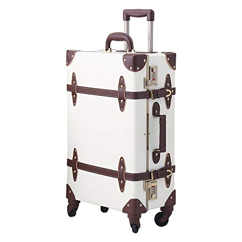 Uretravel Zipperless Aluminum Frame 24-Inch Spinner Suitcase on Amazon