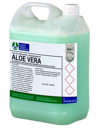Fregasuelos en capsulas hidrosolubles altamente perfumadas PURE Capsulas ALOE VERA envase de 50 dosis