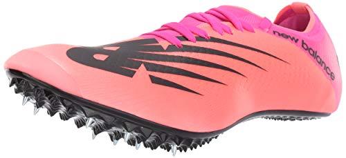 New Balance Men's Sprint Vazee Sigma V1 Spike Running Shoe, Guava/Peony, 9 M US