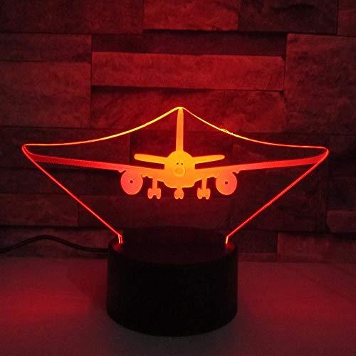Lámpara de Mesa LED Instrumento Musical lámpara de decoración del hogar Dispositivo Amigos niños 7 Interruptor táctil