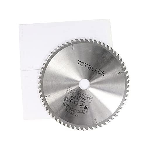 1pc 250/255 / 300 millimetri sega circolare lama for sega a disco TCT Legno Lama Metalli morbidi lavorazione del legno sega taglio Taglio della roulette (Color : 300x30x80T)