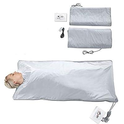 Cocoarm Portable Steam Sauna Spa Folding Tent Body Shaper Weight Loss Sauna Slimming Blanket Detox Therapy Machine