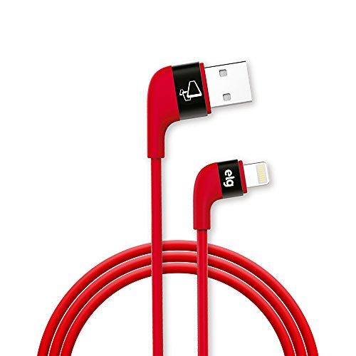 Cabo Lightning Apple ELG XFT810RD - Vermelho