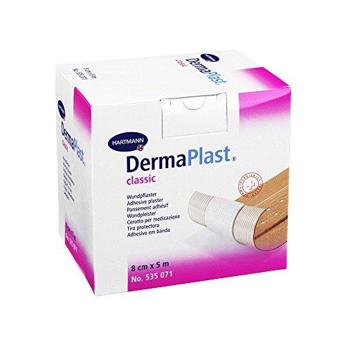 Hartmann DermaPlast textile elastic Pflaster Schnelle Hypoallergen Rolle 5m x 8cm