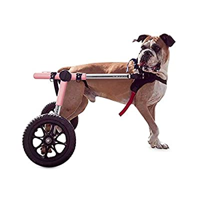 Walkin' Wheels Dog Wheelchair - for Large Dogs 70-180 Pounds - Veterinarian Approved - Dog Wheelchair for Back Legs