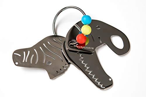 Yummikeys stainless steel toy keys