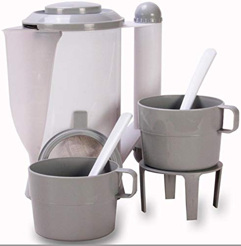 Guilty Gadgets 12 V Wasserkocher für Auto, Transporter, LKW, Wohnwagen, Reise, tragbar, Zigarettenanzünder, für Camping, Tee, Kaffee