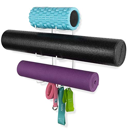 Wallniture Guru Wall Mount Yoga Mat Home Gym Equipment...