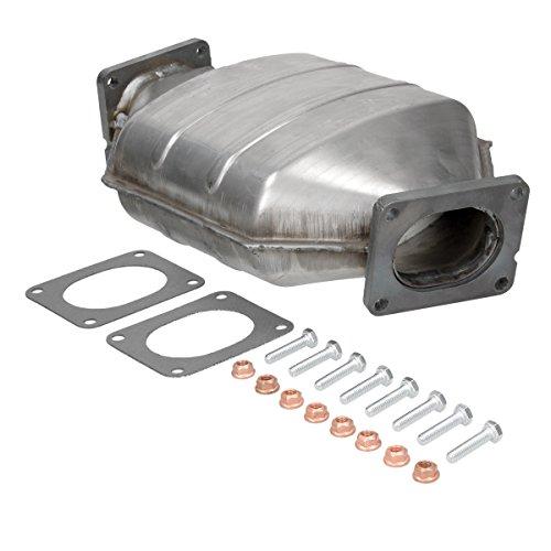 ECD Germany Kat-119 Dieselpartikelfilter Ruß-/Partikelfilter | Länge [mm]: 370 | mit Montagesatz | DPF Partikelfilter Abgasanlage