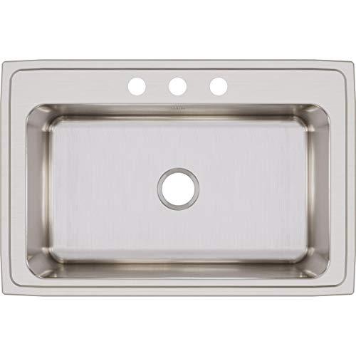 Elkay Lustertone DLRS3322123 Single Bowl Top Mount Stainless Steel Sink