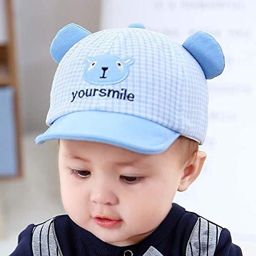 Bonita Gorra de bebé para bebé, Gorra de béisbol para bebé, Primavera, Verano, niños, Sombrero de algodón para el Sol, Sombreros con Visera para Exteriores-Blue Style 6