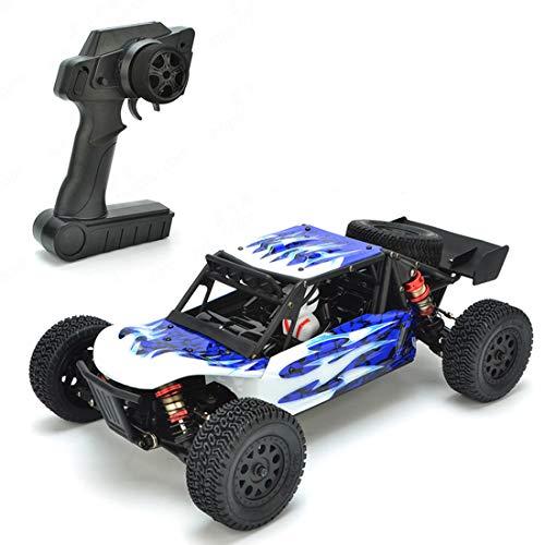 YOUX Coche teledirigido todoterreno LC Racing EMB-DTH 1:14 4WD 2.4G 50 km/h, sin escobillas, alta velocidad, todoterreno, escalada eléctrica, RC Auto Monster Desierto Truck - RTR