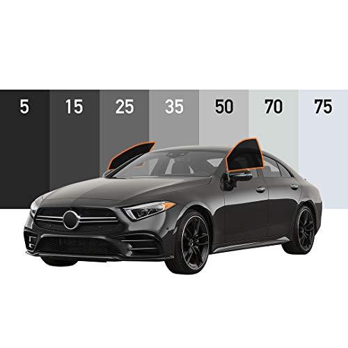MotoShield Pro - Premium Precut Ceramic Window Tint for All Vehicles (Superior Heat Control/Blocks 99% UV) 2mil - 2 Front Windows