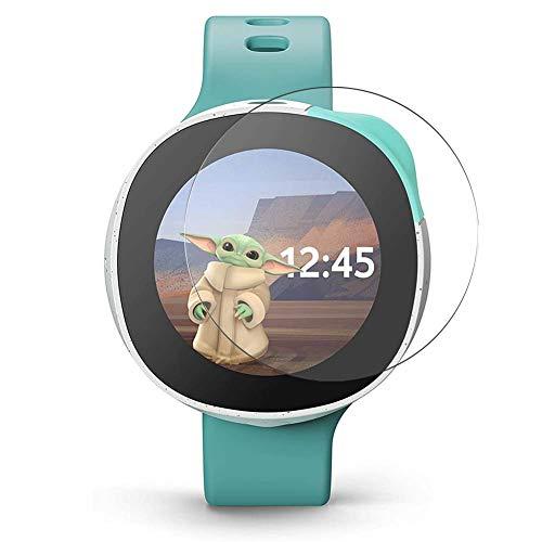 Vaxson 3 Stück Schutzfolie, kompatibel mit Vodafone Neo Smartwatch Smart Watch, Displayschutzfolie Bildschirmschutz [nicht Panzerglas]
