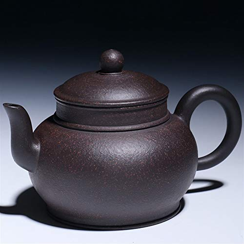 HePing Wu Xinyuan authentischen Tee Töpfe 240ml Hand Erz schwarz Jinsha Herbst Kessel (Color : Purple mud)