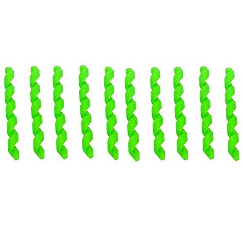 10 fundas de goma para cable de bicicleta, 10 unidades, en espiral,...