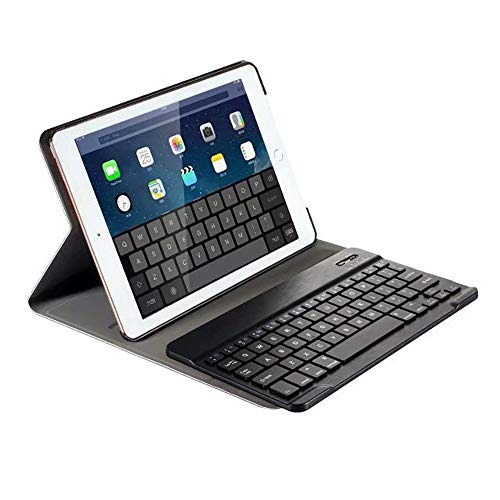 """Cigou Removable Backlit Bluetooth Keyboard Case Cover Stand for iPad 10.2"""" 2019 7th Generation (Black)"""