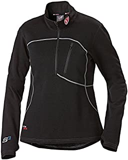 Scent Blocker Sola Women's Expedition Weight Shirt, Black (Medium)