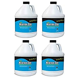 Pro Products Neutra Sul HP01B Professional Grade Oxidizer, Neutralize Rotten Egg Smells and Pollutants, 1 Gallon, 4 Pack, 4 Pack 1 material type: Liquid