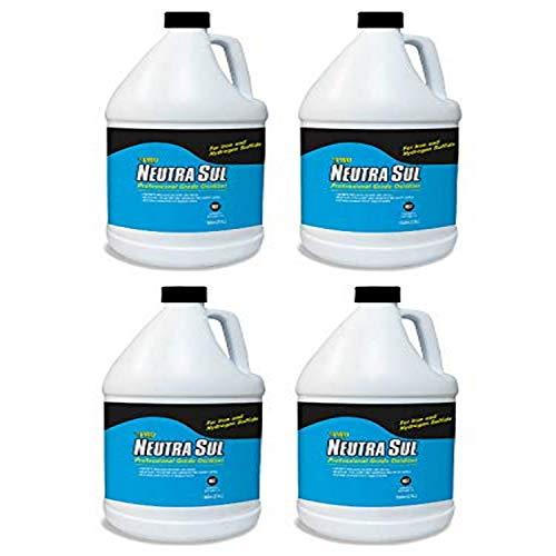 Pro Products Neutra Sul HP01B Professional Grade Oxidizer, Neutralize Rotten Egg Smells and Pollutants, 1 Gallon, 4 Pack, 4 Pack