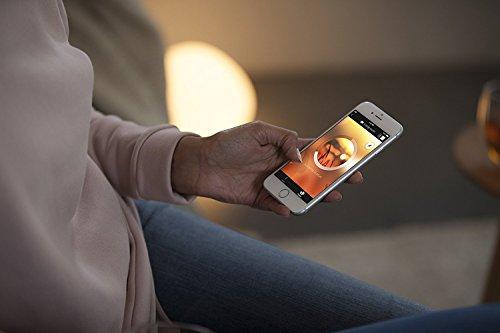 Philips Hue White Ambiance LED Lampe E27 Starter Set inkl. Dimmschalter und Bridge, alle Weißschattierungen, steuerbar via App, Standard Verpackung [Energieklasse A+] - 8