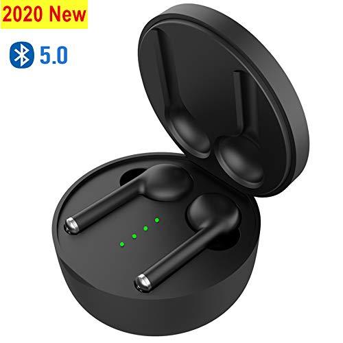 2020 Nuovi Tocca le Cuffie Bluetooth con Microfono Audio Stereo Custodia di Ricarica Portatile per IOS Android#B3