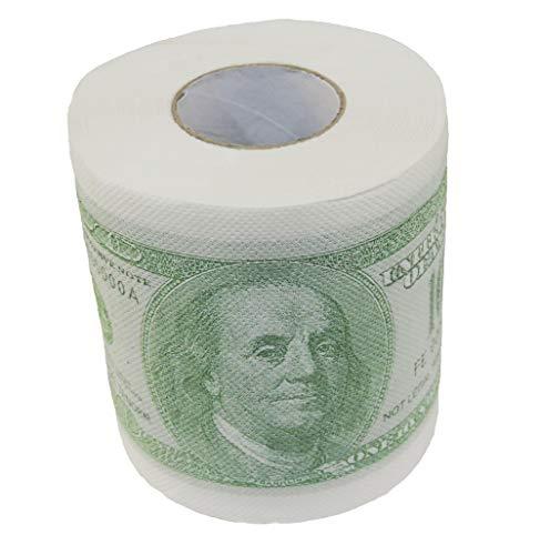 NOVELTY GIANT WWW.NOVELTYGIANT.COM $100 Dollar Bill Money Gag Gift Toilet Paper