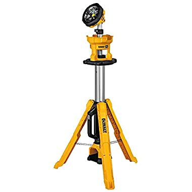 DEWALT DCL079B 20V Max Cordless Tripod Light, Bare Tool