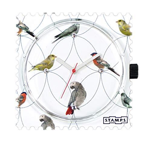 S.T.A.M.P.S. Wijzerplaat - Diamond Birds - met kristallen from Swarovski ®
