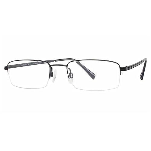 70d0c1cd037 Charmant Men s Eyeglasses TI8181 TI 8181 BK Black Half Rim Optical Frame  51mm