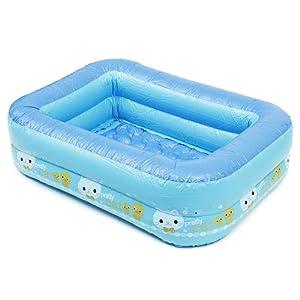 Maoviwq Piscina al aire libre grande bebé niños familia piscina infantil piscinas inflables balnearios verano inflable niños piscina para interior exterior piscina fiesta
