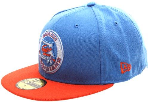 New Era ABA classique Miami Floridians New Era Casquette - Bleu - 7.375