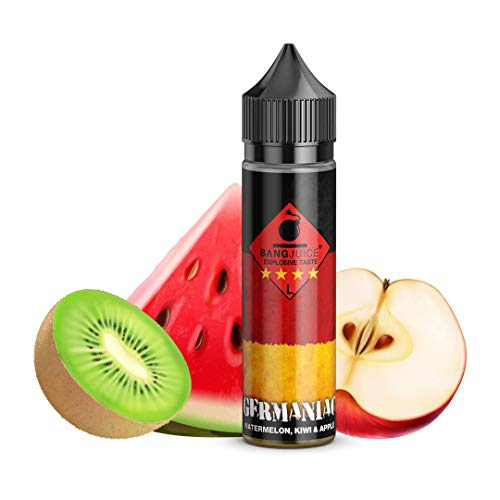 Bang Juice Aromakonzentrat Germaniac Limited Edition, Shake-and-Vape zum Mischen mit Basisliquid für e-Liquid, 0.0 mg Nikotin, 20 ml