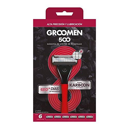 Afeitadora 5 Hojas  marca Groomen