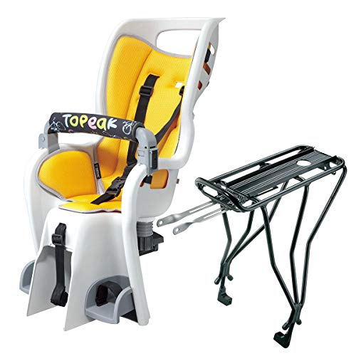 Lowest Prices! Topeak BabySeat II Bicycle Seat w/29in Wheel Disc Rack - TCS2207