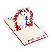 ポップアップカード 誕生日 母の日カード 結婚記念カード 祝賀カード 感謝カード サンキューカード 3Dポップアップカード すべての機会