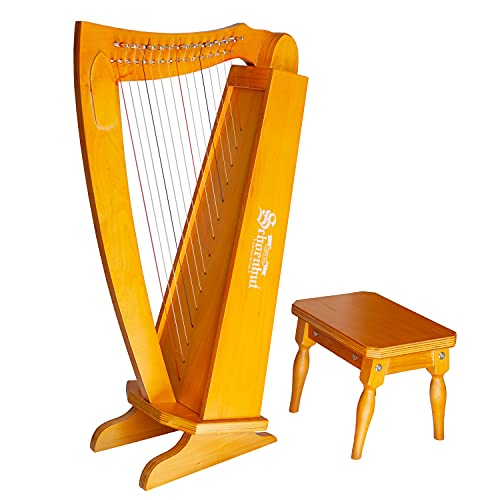 Schoenhut 15 String Lyre Harp - 27