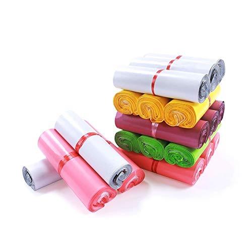 Augus Jacob Bolsa de mensajería Multicolor Bolsas de Almacenamiento Bolsa de Correo Espesar Material PE Material de Almacenamiento a Prueba de Agua (Color : 38x52cm 50pcs, Size : Purple)