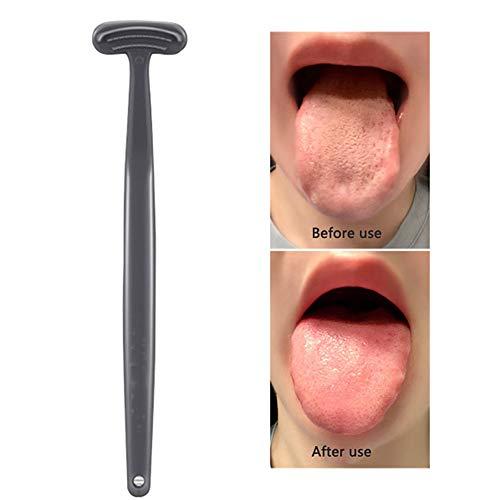 Tongschraper Reiniger, gemakkelijk te gebruiken, helpt bij het bestrijden van slechte adem, geweldig voor volwassenen en kinderen, tongborstels voor mondhygiëne